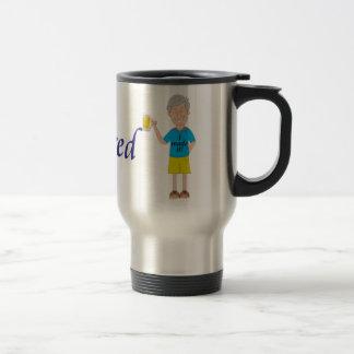 Men's retirement travel mug