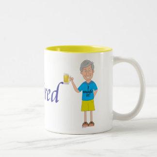 Men's retirement Two-Tone coffee mug