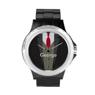 Men s Suit Monogram Watch