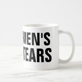 Men s Tears Mugs