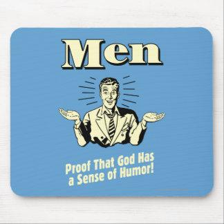 Men: Sense Of Humor Mouse Pad