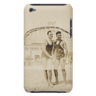 Men Standing on Beach Barely There iPod Cover