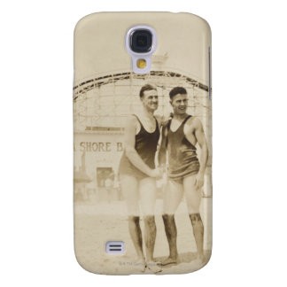 Men Standing on Beach Galaxy S4 Cover