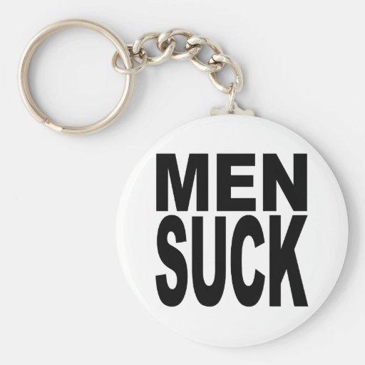 Men Suck Keychain