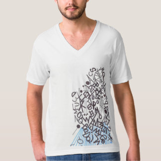 Men T-shirt with of graph IC type character kind