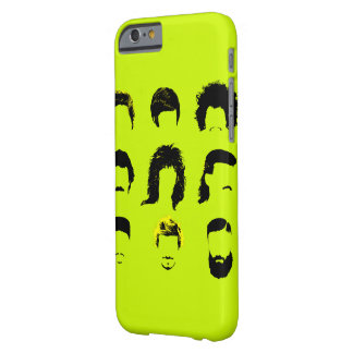 Men throughout Time | Tribute to Hair iPhone case
