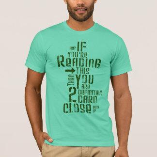 MEN - Too Close T-Shirt