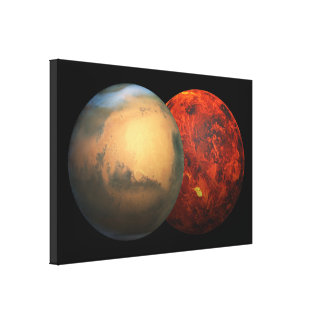 Men & Venus - 3D Effect Canvas Print