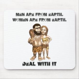 Men Vs Women Mousepad