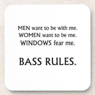 Men want me, women want, windows fear me black txt beverage coaster