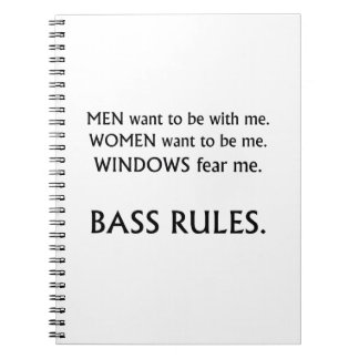 Men want me, women want, windows fear me black txt spiral notebook