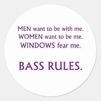 Men want me, women want, windows fear me purple sticker