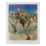 Men Wanted for the Army Print