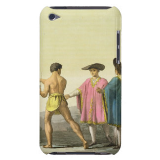 Men Wearing Ceremonial Ponchos in Santiago, Chile Barely There iPod Cover