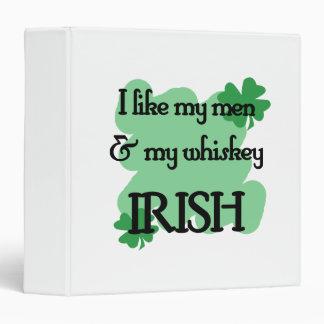 men whiskey vinyl binders