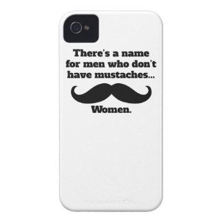 Men Who Don't Have Mustaches iPhone 4 Covers