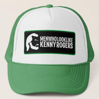 Men Who Look Like Kenny Rogers Trucker Hat