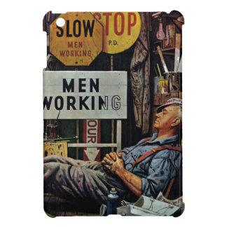 Men Working iPad Mini Covers