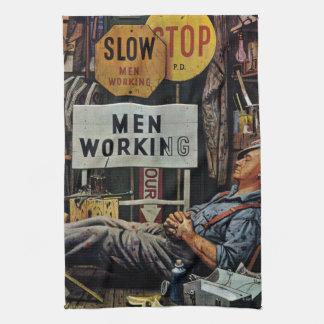 Men Working Towel