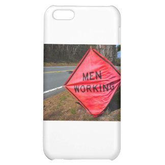 MEN WORKING SIGN CASE FOR iPhone 5C