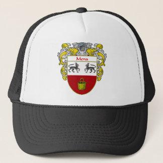 Mena Coat of Arms (Mantled) Trucker Hat