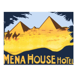Mena House Hotel Cairo Post Card