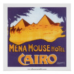 Mena House Hotel Cairo Poster