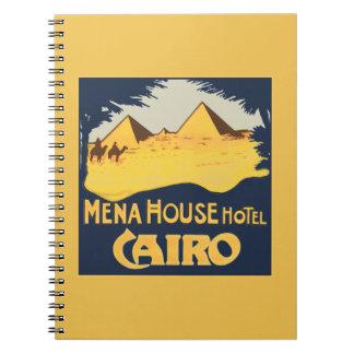Mena House Hotel Cairo Spiral Notebook