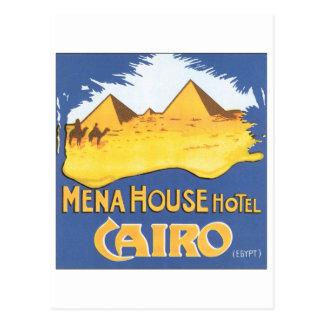 Mena House Hotel Postcard