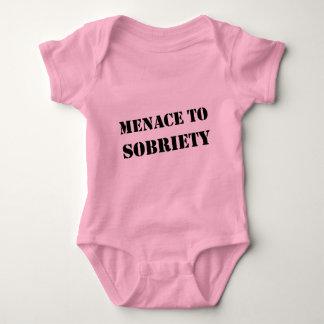 Menace To Sobriety Baby Bodysuit