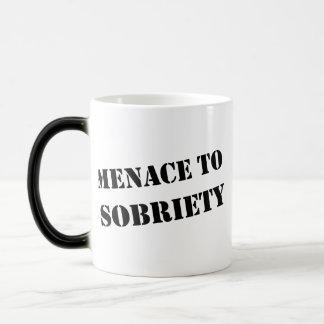 Menace To Sobriety Magic Mug