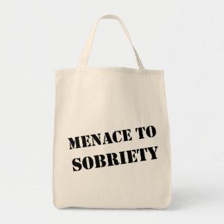 Menace To Sobriety Tote Bag