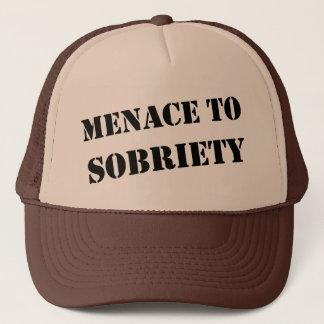 Menace To Sobriety Trucker Hat
