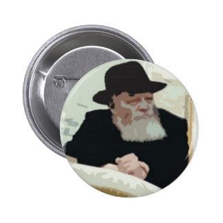 Menachem Mendel Schneersohn 2 Inch Round Button