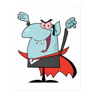 Menacing Vampire Postcard