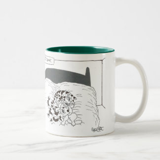 Menage' a paws Two-Tone coffee mug