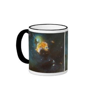 Menagerie of Stars Ringer Mug