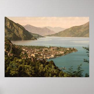 Menaggio III, lago Como, Lombardía, Italia Posters