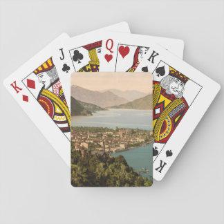 Menaggio III, Lake Como, Lombardy, Italy Poker Cards