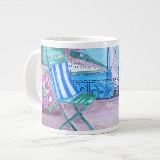 Menaggio, tazas de la especialidad de la pintura d taza jumbo