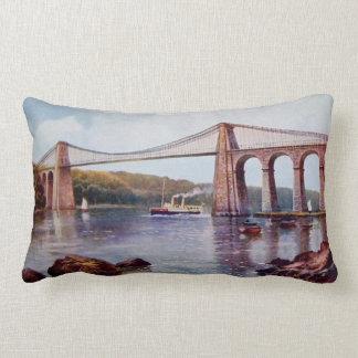 Menai Suspension Bridge Pillow
