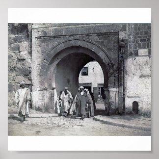 Menara 1900 de Túnez Túnez/de Bab Posters
