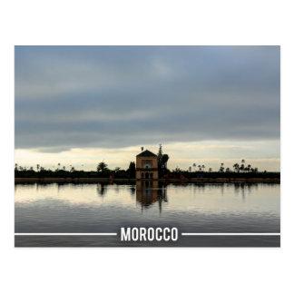 Menara Garden - Marrakech Morocco Postcard