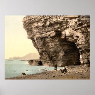 Menawn Cliffs, Achill, County Mayo archival print