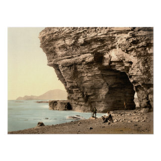 Menawn Cliffs, Achill, County Mayo Poster