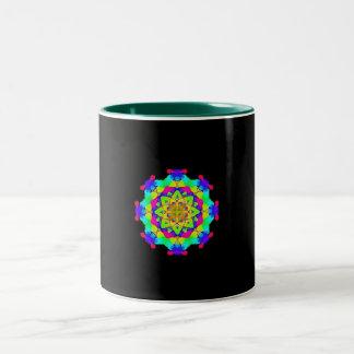mendala Two-Tone coffee mug