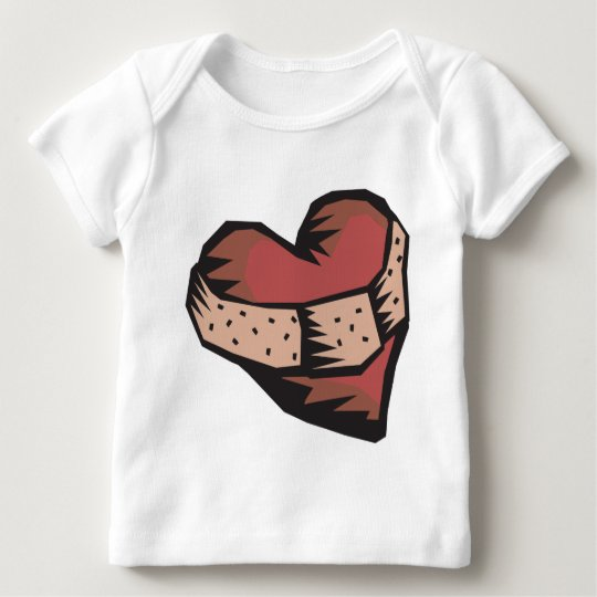Mended Heart Baby T-Shirt