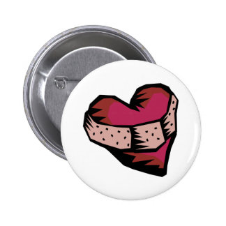 Mended Heart Button