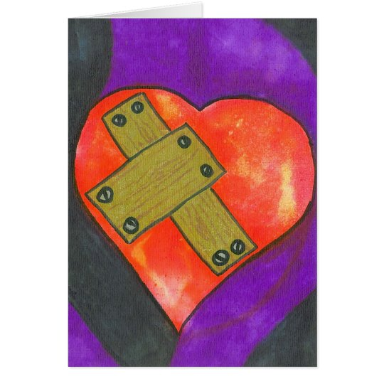 mended heart card