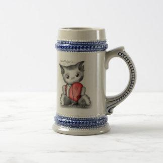 Mended heart mug